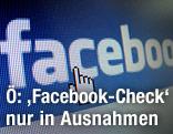 Schriftzug von Facebook