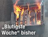 Fenster und Flammen