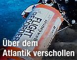 Black Box des abgestürzten Flugzeuges am Meeresgrund