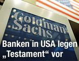 Logo der US-Bank Goldman Sachs