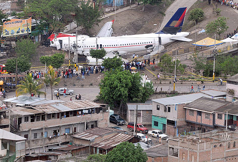 Flugzeugabsturz in Honduras