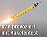 Iranische Schahab-Rakete