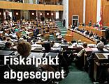 Nationalratssitzung im Plenarsaal