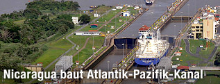 Pedro-Miguel-Schleuse im Panamakanal