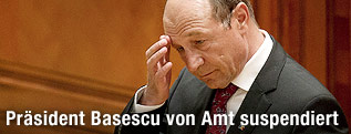 Traian Basescu, rumänischer Präsident