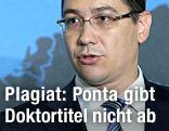 Rumäniens Premierminister Victor Ponta
