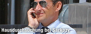 Ehemaliger Präsident Frankreichs Nicholas Sarkozy
