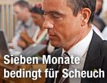 FPK-Landesparteichef Uwe Scheuch im Gerichtssaal