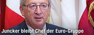 Euro-Gruppen-Chef Jean-Claude Juncker