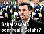 Irans Präsident Mahmoud Ahmadinejad