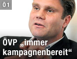 ÖVP-Generalsekretär Hannes Rauch