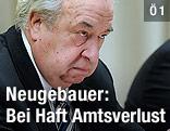 GÖD-Vorsitzender Fritz Neugebauer