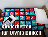 Bett in Olympiadorf