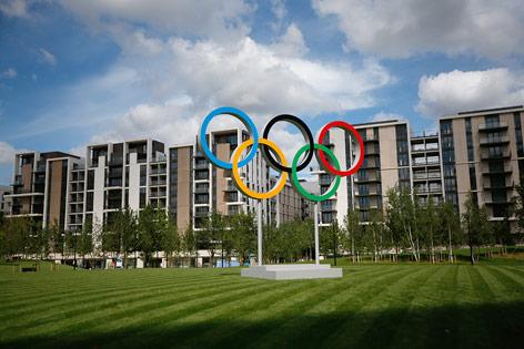 Das Olympiadorf in London