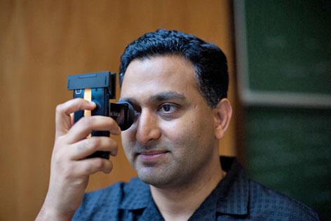Ramesh Raskar an der TU Wien