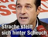 FPÖ-Parteichef Heinz-Christian Strache