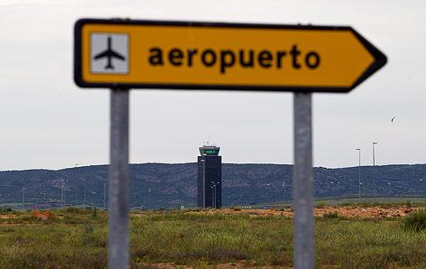 Tower des Flughafens von Ciudad Real