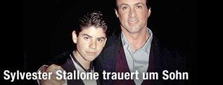 Archivbild von Sylvester Stallone gemeinsam mit seinem Sohn Sage