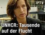UNHCR-Sprecherin Melissa Fleming