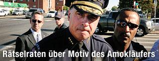 Polizeichef von Aurora Dan Oates