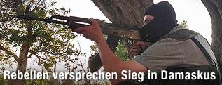 Kämpfer der Freien Syrische Armee
