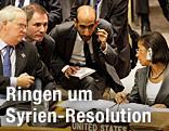 Die UN-Abgesandte Susan Rice (USA) und der britische UN-Abgesandte Mark Lyall Grant