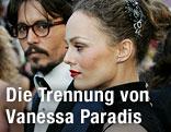 Vanessa Paradis und Johnny Depp