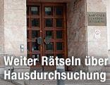 Eingang zur Kärntner Landesregierung in Klagenfurt