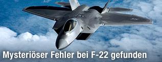 F-22 Raptor Kampfjet