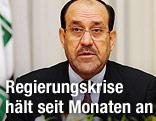Iraks Regierungschef Nuri al-Maliki