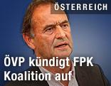 Der geschäftsführenden Parteiobmann der Kärntner ÖVP, Nationalratsabgeordnete Gabriel Obernosterer