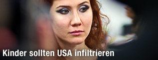 Russische Spionin Anna Chapman