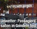Rettungswagen vor der Kreischbergbahn