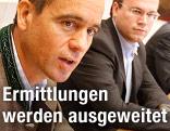 Kärntner Landesräte Uwe Scheuch und Harald Dobernig