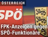 SPÖ-Logo und Kärnten-Wappen