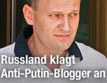Russischer Blogger Alexej Nawalny