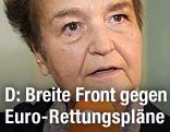 Die ehemalige Bundesjustizministerin Herta Daeubler-Gmelin
