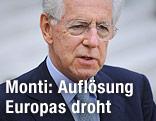 Italiens Premierminister Mario Monti