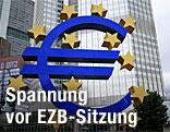 Hauptquartier der europäischen Zentralbank (EZB)