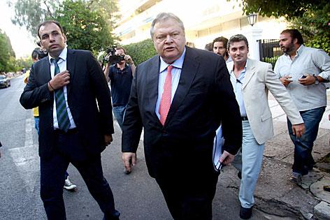 Evangelos Venizelos, Chef der Sozialisten PASOK