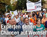 Demonstration in Klagenfurt