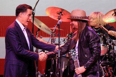Mitt Romney und Kid Rock