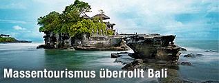Tempelanlage Tanah Lot auf Bali