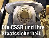 Telefon der tschechoslowakischen Geheimpolizei