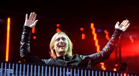 Der französische Star-DJ David Guetta