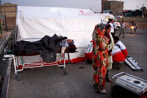 Verletzte nach Erdbeben