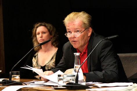 Johann Maier (SPÖ, Datenschutzrat) stellt im Nationalrat den DSR-Tätigkeitsbericht vor