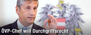 ÖVP-Chef Vizekanzler Michael Spindelegger