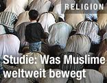 Betende Moslems