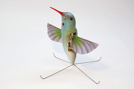 Roboter in der Form eines Kolibris